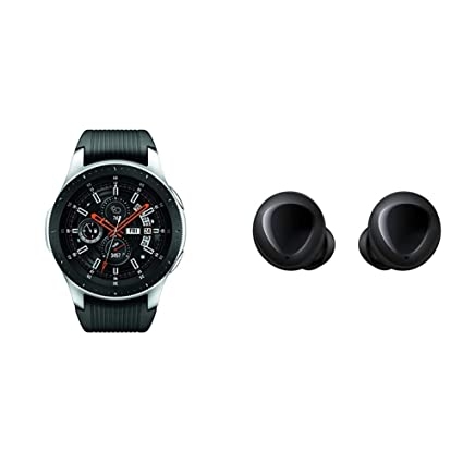 Amazon.com: Reloj Samsung Galaxy (1.811 in) plateado ...