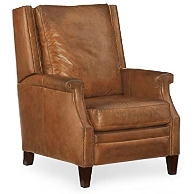 Hooker Furniture Collin Leather Recliner in Brown