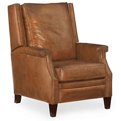 Hooker Furniture Collin Leather Recliner in Brown from Hooker Furniture