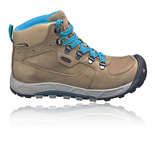 Keen Westward Mid Leather Womens Waterproof Stivali - SS18 marrone
