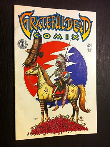 Grateful Dead Comix Vol 2, #2 Rare Official Authorized Comic Book Jerry Garcia from ConcertPosterArt