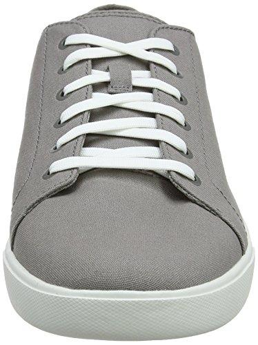 Gris de Hombre Canvas F49 Steeple Zapatos Grey Oxford Cordones Oxford Timberland Bayham Canvas qIw844