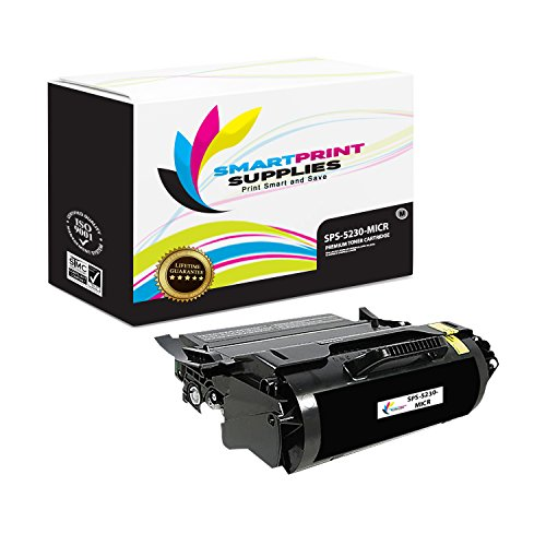 Smart Print Supplies Compatible 330-6968 330-6991 MICR Black Toner Cartridge Replacement for Dell 5230 5350F362T Printers (21,000 Pages)