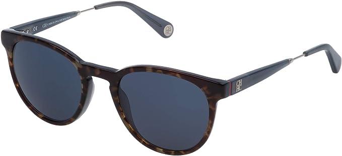 Carolina Herrera Gafas de Sol Mujer SHE756510U81 (Diametro 51 mm), Azul, 51 Unisex-Adult: Amazon.es: Ropa y accesorios