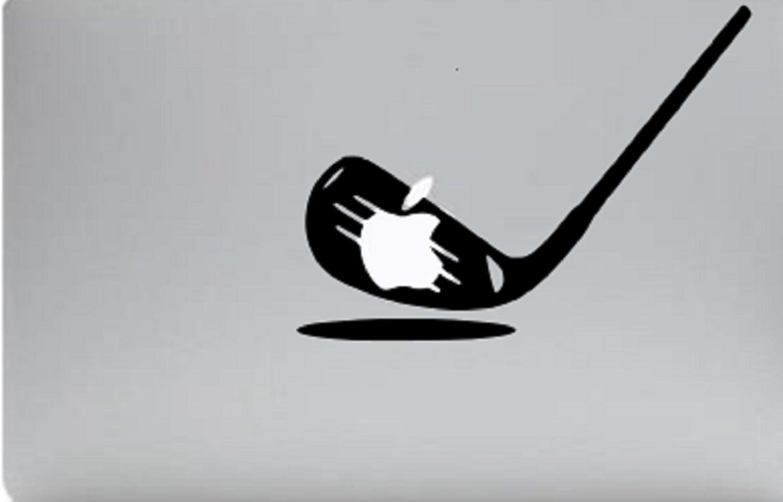 "Golf Macbook Decal Sticker Skin Laptop 6"" High X 8"" Eide"
