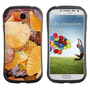 LASTONE PHONE CASE / Suave Silicona Caso Carcasa de Caucho Funda para Samsung Galaxy S4 I9500 / Romantic Seaside Sea Biology