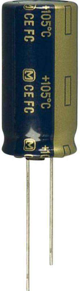 Panasonic Condensatore elettrolitico EEU-FC2A331 7.5 mm 330 /µF 100 V 20/% 16 mm 1 pz Radiale /Ø