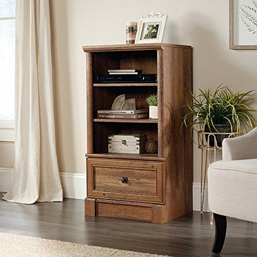 sauder-palladia-3-shelf-audio-rack-in-vintage-oak
