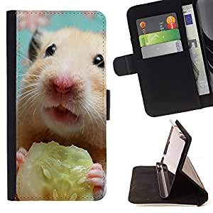 Jordan Colourful Shop -Hamster Cute -- Leather Case Absorciš®n cubierta de la caja de alto impacto FOR Samsung Galaxy S5 V SM-G900 G9009 G9008V ---
