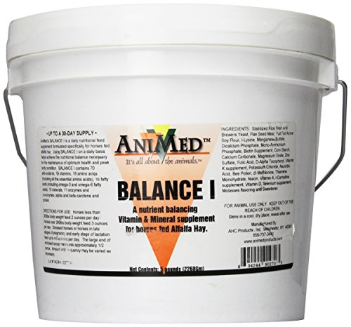 Animed Balance I Vitamin And Mineral Supplement For Horses  5 Pound