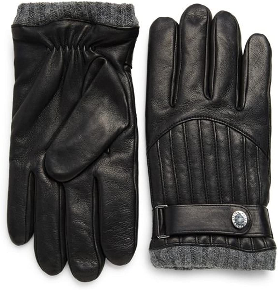 POLO RALPH LAUREN MEN Quilted Thinsulate BUSINESS GLOVES DRIVING Leather M L XL