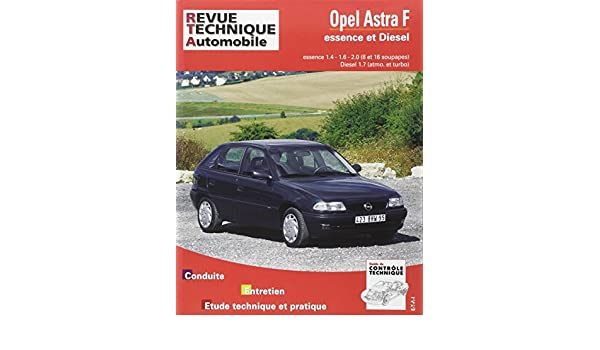 Rta 547.2 Opel Astra F Essence et Diesel 92-93: Etai: 9782726854723: Amazon.com: Books