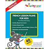 img - for French Lesson Plans for Kids (English and French Edition) book / textbook / text book