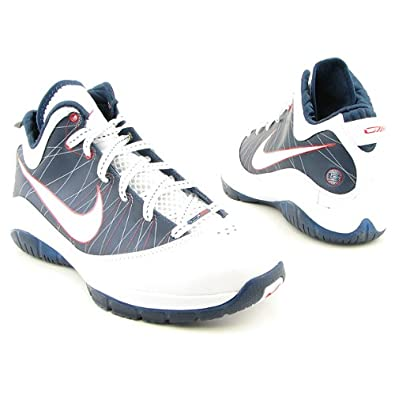 b447ab6902d0 NIKE Lebron VII P.S. Playoff Pack White Navy Red Mens Basketball Shoes  407639-100