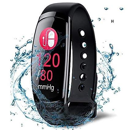 Uhruolo Fitness Tracker, Pedometer Sports Activity Tracker Bracelet IP67 Waterproof Wireless Smart Wristband Smart Watch
