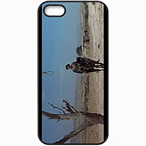 Personalized iPhone 5 5S Cell phone Case/Cover Skin A Fistful Of Dollars Black