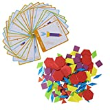 Winkey Developmental Baby Toys, Tangram Puzzle Travel Game Jigsaw With Kids Challenge Colorful Educational Toy,The Best Toy Gift