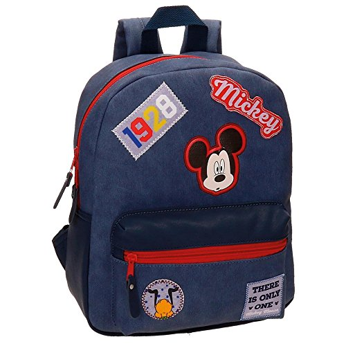 Price comparison product image Disney Mickey Mouse Parches Casual Backpack for Freetime and School