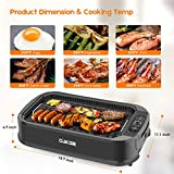 CUKOR Indoor Smokeless Grill,1500W Power Electric