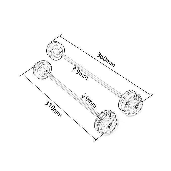 Amazon Com Ultrasupplier Front Rear Cnc Wheel Fork Slider