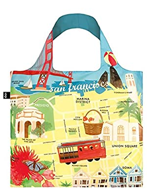 LOQI San Francisco Shopping Bag