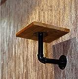 Ymj Wall clothing racks/clothing racks/wall hangers hangs hangers hooks window hooks with boards (Color : A)
