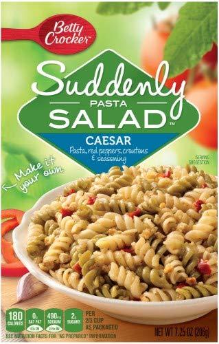 Betty Crocker Suddenly Salad Caesar Pasta Kit (Pack of 14)