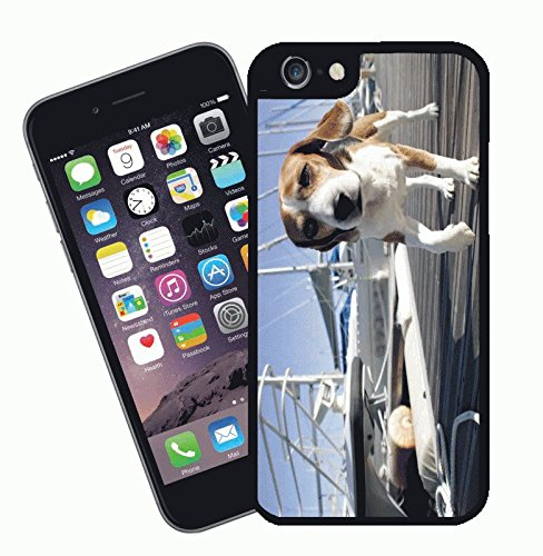 Dog phone case, design 005 - This cover will fit Apple model iPhone 7 (not 7 plus) - By Eclipse Gift Ideas