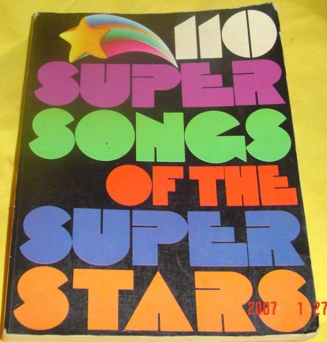 Image for 110 Super Songs of the Super Stars
