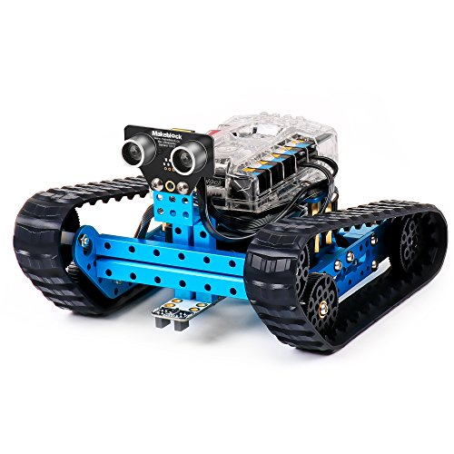 Makeblock Programmable mBot Ranger Robot Kit, STEM Educational Engineering Design & Build 3 in 1 Programmable Robotic System Kit - Ages 10+]()