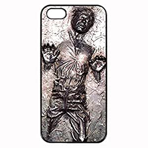 Han Solo Frozen in Carbonite Unipue Custom Image Case iphone 4 case , iphone 4S case, Diy Durable Hard Case Cover for iPhone 4 4S , High Quality Plastic Case By Argelis-sky, Black Case New