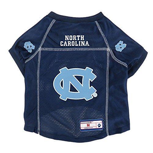 Navy Dog Football Jersey - NCAA North Carolina Tar Heels Pet Jersey, Large