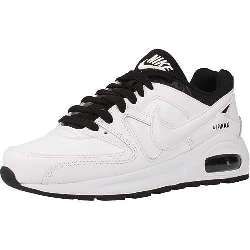 online store f752f 7d55d Nike Air Max Command Flex LTR GS Scarpe da Corsa, Bambini, Bianco, 35 1 2   Amazon.it  Sport e tempo libero