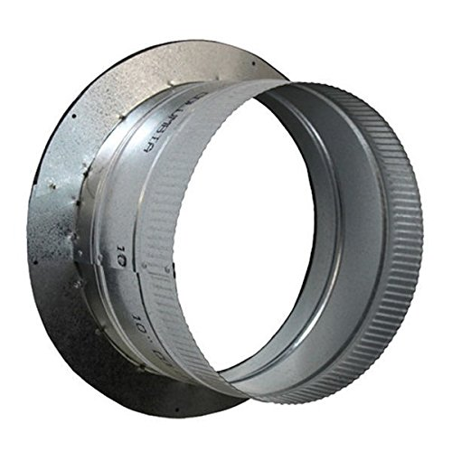 Ideal-Air Duct Collar 8 Inch - Air Tight HVAC Ducting