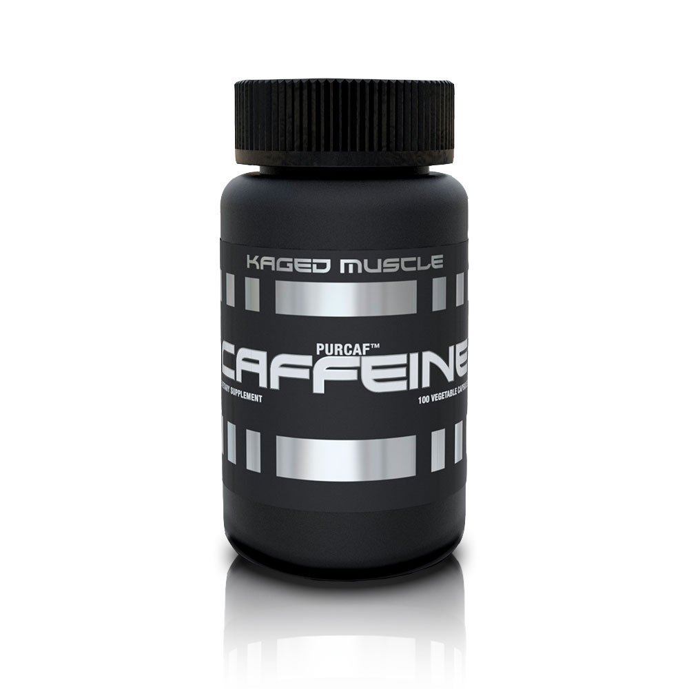 Kaged Muscle PurCaf Caffeine 200 mg 100 Count Vegetable Capsules