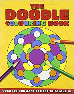 The Doodle Coloring Book Colouring Amazon Co Uk Arcturus