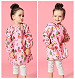 DAWNTUNG Toddler Kids Waterproof Long Sleeved