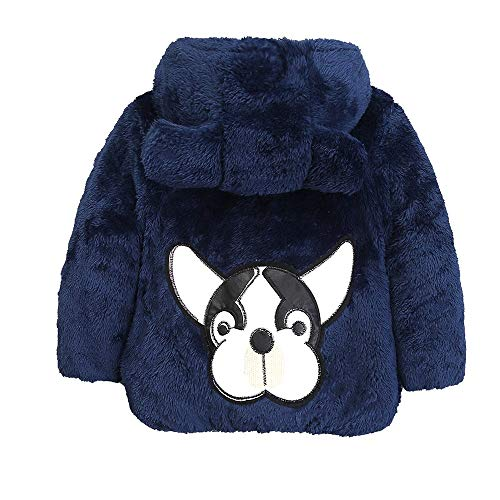 Price comparison product image Palarn Baby Clothes,  Toddler Baby Girl Boy Cartoon Dog Solid Warm Velvet Jacket Hooded Coat Tops