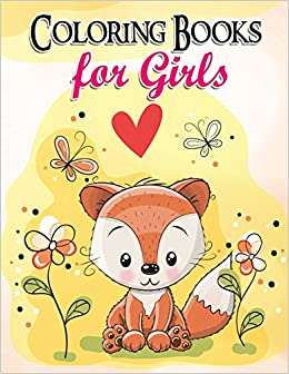 Gorgeous Coloring Book for Girls: The Really Best Relaxing Colouring ...