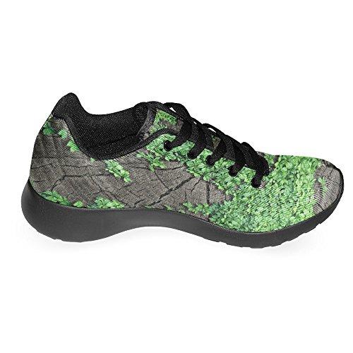 Interestprint Womens Jogging Running Sneaker Leggero Go Easy Walking Casual Comfort Scarpe Da Corsa Mappa Del Mondo Multi 1