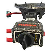 Maxcook Heavy Duty Cast Iron Portable Propane Gas Single Burner Stove