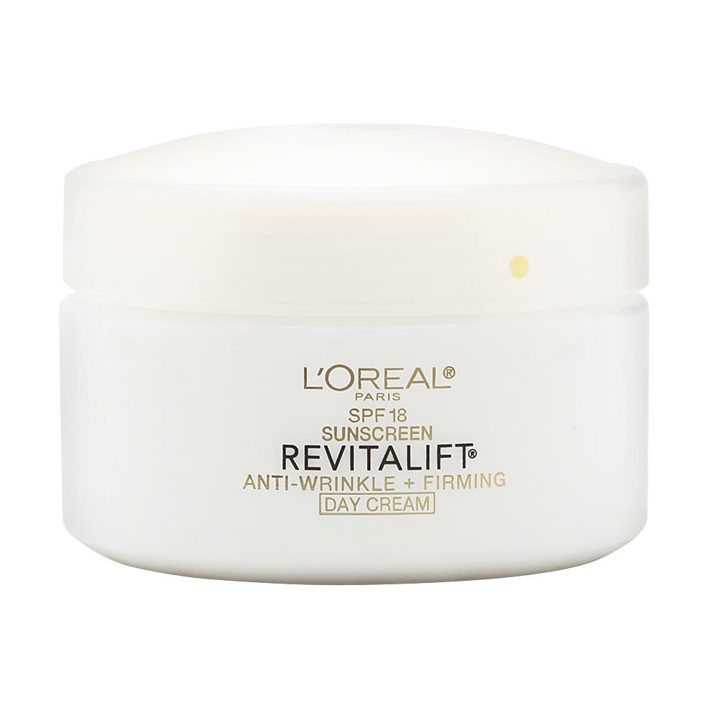 L'Oréal Paris Revitalift Anti-Wrinkle + Firming Day Cream SPF 25 Sunscreen, 1.7 oz.
