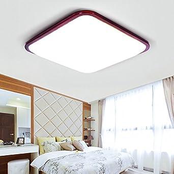 Lampe LED plafond chinois mouton carré lampe lampe de salon simple ...