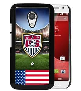 Hot Sale Motorola Moto G 2nd Generation Case ,USA Soccer 11 Black Motorola Moto G 2nd Cover Unique And High Quality Designed Phone Case