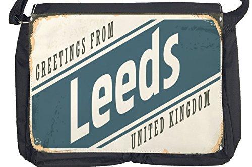 Borsa Tracolla Viaggi Cucina Leeds Inghilterra Stampato
