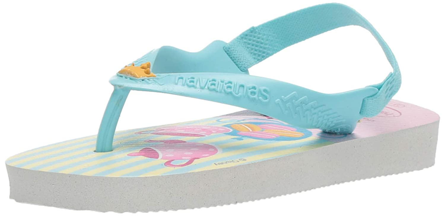 detailing get new premium selection Havaianas Baby Disney Princess, White/Blue, 23/24 BR (9 M US Toddler)