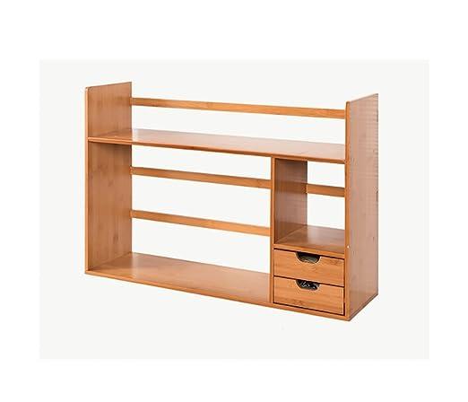 Estantería / Mesa Estantería de bambú Estudiante Niños Escritorio ...
