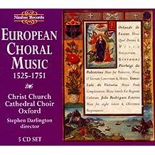 European Choral 1525-1751