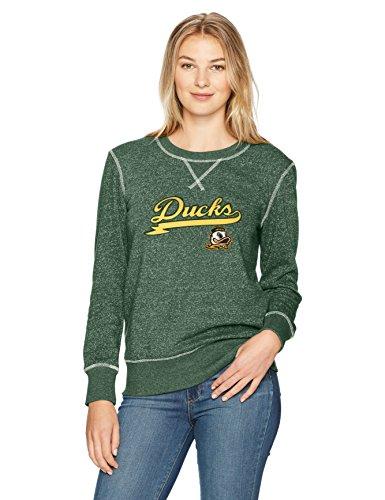 - NCAA Oregon Ducks Women's Ots Seneca Crew Neck Pullover, Small, Dark Green