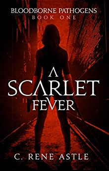 The cover of A scarlet Fever